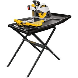 DEWALT - 10 in Wet Tile Saw with Stand - D24000S