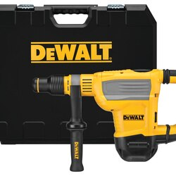 DEWALT - 134 IN SDS Max Combination Rotary Hammer Kit - D25614K