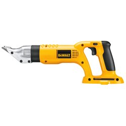 DEWALT - 18V Cordless 18 Gauge Swivel Head and Shear Tool Only - DC490B
