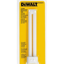 DEWALT - 13 Watt Fluorescent Replacement Bulb for DC527 and DC528 - DC5273