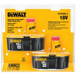 DEWALT - 18V XRP Battery Combo Pack - DC9096-2