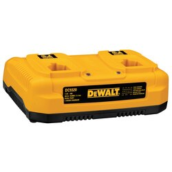 DEWALT - 72V18V NiCdNiMHLiIon 1 Hour Dual Port Charger - DC9320
