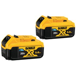 DEWALT - 20V MAX TOOL CONNECT BATTERY 5 AH  2 PACK - DCB205BT-2