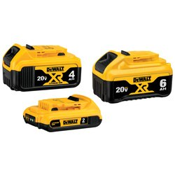DEWALT - 20V MAX Lithium Ion Battery 3 PK - DCB346-3