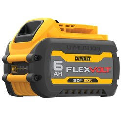 DEWALT - 20V60V MAX FLEXVOLT 60 Ah BATTERY - DCB606