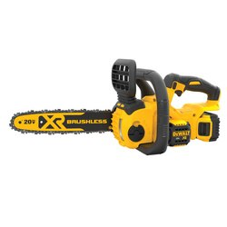 DEWALT - 20V MAX XR COMPACT 12 IN CORDLESS CHAINSAW KIT - DCCS620P1