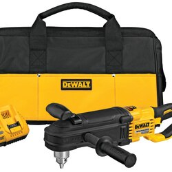 DEWALT - 60v MAX InLine Stud  Joist Drill with EClutch System Kit - DCD470X1