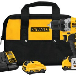 DEWALT - XTREME 12V MAX Brushless 38 in Cordless DrillDriver Kit - DCD701F2