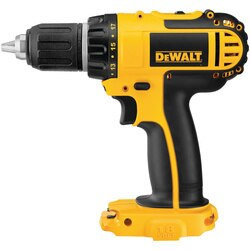 DEWALT - 18V 12 13mm Cordless Compact DrillDriver Tool Only - DCD760B