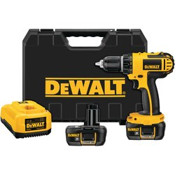 DEWALT - 18V 12 13mm Cordless Compact LiIon DrillDriver Kit - DCD760KL