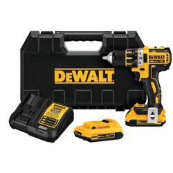 DEWALT - 20V MAX XR Lithium Ion Brushless Compact Drill  Driver Kit - DCD790D2
