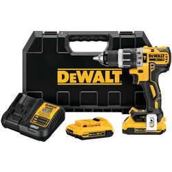 DEWALT - 20V MAX XR Lithium Ion Brushless Compact Hammerdrill Kit - DCD796D2