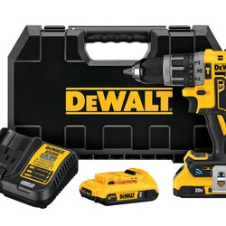DEWALT - 20V MAX XR Tool Connect Compact Hammerdrill Kit - DCD797D2
