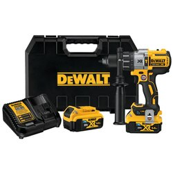 DEWALT - 20V MAX 12 in XR Brushless Cordless Hammer DrillDriver Kit with Integrated Bluetooth and Tool Connect Batteries - DCD997CP2BT
