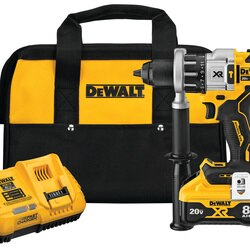 DEWALT - 20V MAX XR 12 in Brushless Hammer DrillDriver With POWER DETECT Tool Technology Kit - DCD998W1