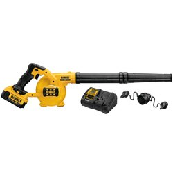 DEWALT - 20V MAX Compact Jobsite Blower Kit - DCE100M1