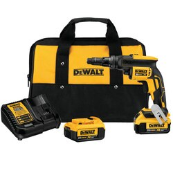 DEWALT - 20V MAX XR VERSACLUTCH ADJUSTABLE TORQUE SCREWGUN KIT - DCF622M2