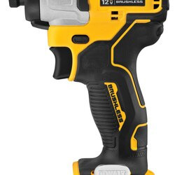 DEWALT - XTREME 12V MAX Brushless 14 in Cordless Impact Driver Tool only - DCF801B