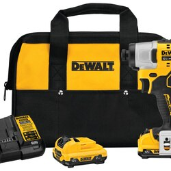 DEWALT - XTREME 12V MAX Brushless 14 in Cordless Impact Driver Kit - DCF801F2