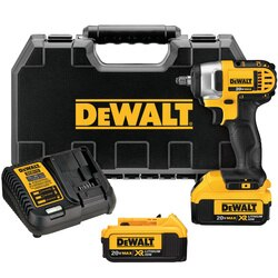 DEWALT - 20V MAX 38 in Impact Wrench Kit - DCF883M2