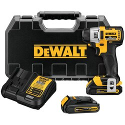 DEWALT - 20V MAX Lithium Ion Brushless 3Speed 14 Impact Driver 15AH - DCF895C2