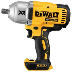 DEWALT - 20V MAX XR High Torque 12 in Impact Wrench with Detent Pin Anvil Tool Only - DCF899B