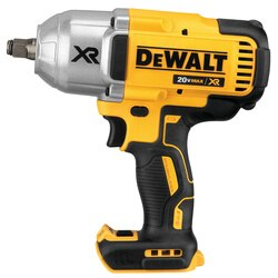 DEWALT - 20V MAX XR High Torque 12 Impact Wrench w Hog Ring Anvil Bare - DCF899HB