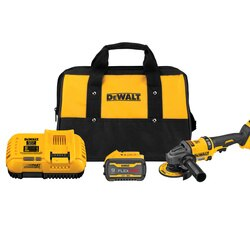 DEWALT - FLEXVOLT 60V MAX Brushless 412 in  6 in Cordless Grinder with Kickback Brake Kit - DCG418X2