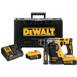 DEWALT - 20V Max XR Brushless 1 LShape SDS Plus Rotary Hammer Kit - DCH273P2