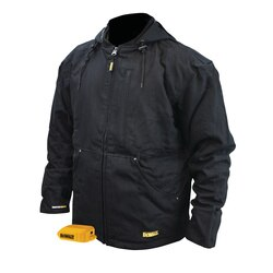 DEWALT - Heavy Duty Black Heated Work Jacket Jacket Only - DCHJ076ABB-S