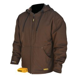 DEWALT - Heavy Duty Tobacco Heated Work Jacket Jacket Only - DCHJ076ATB-S