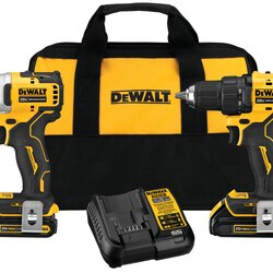 DEWALT - ATOMIC 20V MAX Brushless Cordless 2Tool Combo Kit - DCK278C2