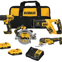 DEWALT - 20V MAX Brushless 6Tool Kit - DCK677D2