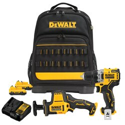 DEWALT - XTREME 12V MAX Cordless 2Tool Combo Kit with Professional Tool Backpack - DCKSS200F2