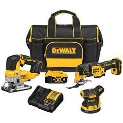 DEWALT - 20V MAX XR Brushless 3Tool Woodworking Kit - DCKSS300M1