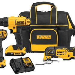 DEWALT - 20V MAX Cordless 3Tool Combo Kit with Contractor Bag - DCKSS344D2