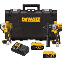 DEWALT - 20V MAX Cordless Brushless XR 2Tool Combo Kit With ToughSystem 50Ah - DCKTS299P2