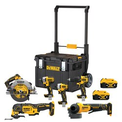 DEWALT - 20V MAX Brushless Cordless 6Tool Combo Kit with ToughSystem - DCKTS600M2