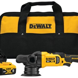 DEWALT - 20V MAX XR 5 in Cordless VariableSpeed Random Orbit Polisher Kit - DCM848P2