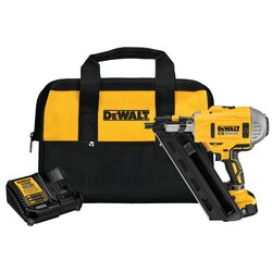 DEWALT - 20V MAX Cordless 30 Paper Collated Framing Nailer Kit - DCN692M1