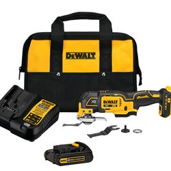 DEWALT - 20V MAX XR  3Speed Cordless Oscillating MultiTool Kit - DCS356C1
