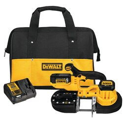 DEWALT - 20V MAX LITHIUM ION BAND SAW KIT - DCS371P1