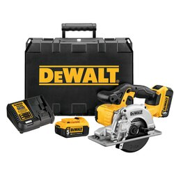 DEWALT - 20V MAX Lithium Ion Saw Kit - DCS373P2