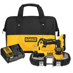 DEWALT - ATOMIC 20V MAX Brushless Cordless 134 in Bandsaw Kit - DCS377Q1