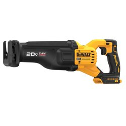 DEWALT - 20V MAX Brushless Cordless Reciprocating Saw with FLEXVOLT ADVANTAGE Tool Only - DCS386B