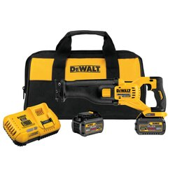 DEWALT - FLEXVOLT 60V MAX Brushless Reciprocating Saw 2 Battery Kit - DCS388T2