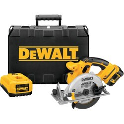 DEWALT - 612 165mm 18V Cordless LiIon Circular Saw Kit - DCS390L