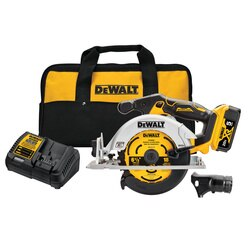 DEWALT - 20V MAX 612 in Brushless Cordless Circular Saw Kit - DCS565P1
