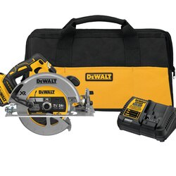 DEWALT - 20V MAX 714 in Brushless XR Circular Saw Kit with 50 AH Battery - DCS570P1