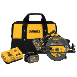 DEWALT - FLEXVOLT 60V MAX 714 in 184  mm CIRCULAR SAW wBrake Kit - DCS575T2